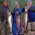 Lake Creek king salmon limit - June 2008
