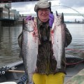Bob Phelan with springer limit - April 2011