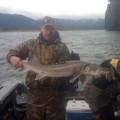 Columbia River guided sturgeon fishing - May 2011
