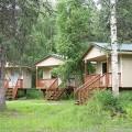 Alaska deluxe cabin exteriors