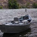 Heated driftboat for those scenic float trips