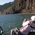 Columbia River Gorge sturgeon - November 2007