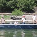 Columbia River guided sturgeon fishing - July 2010