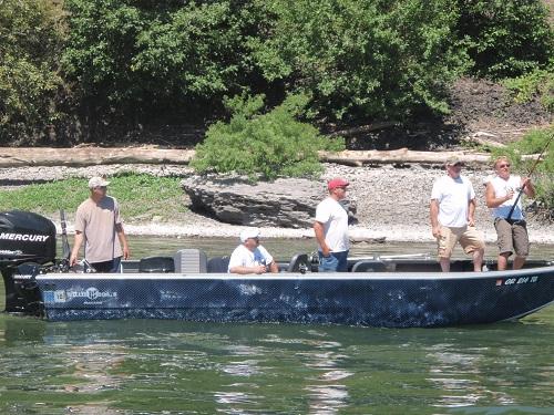 Steve Johnson - Columbia River oversize sturgeon - July 2010