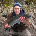 Tom, Sandy River winter steelhead - Feb 2013