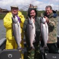 Willamette River spring chinook salmon - Apr 2011